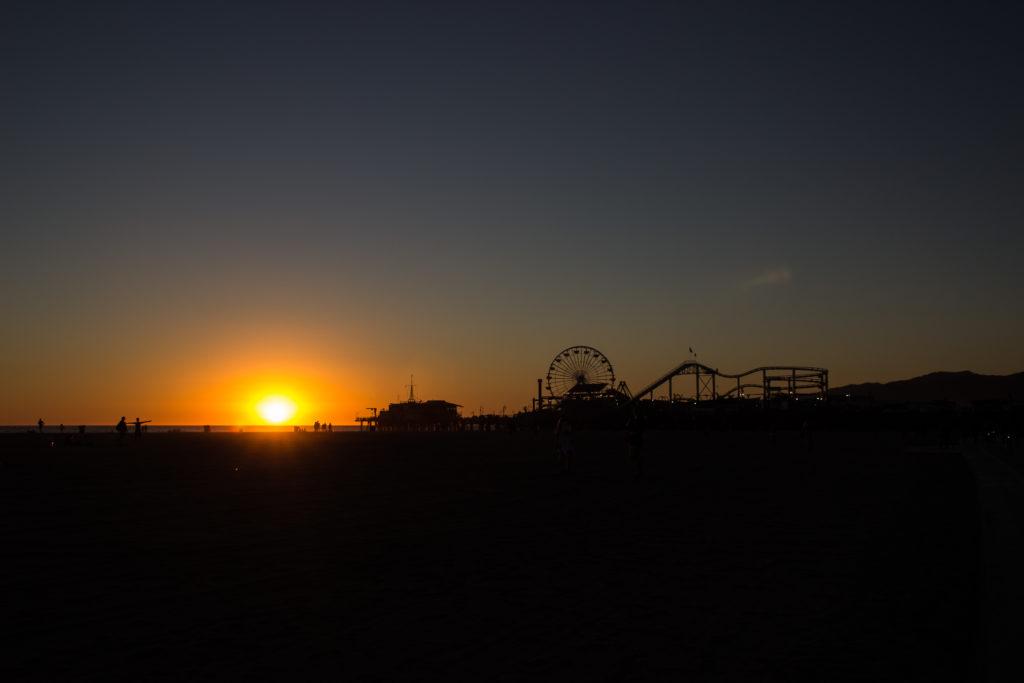 3 Tage Los Angeles: Sonnenuntergang am Santa Monica Pier
